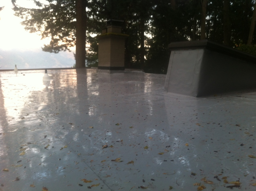 TPO Flat Roof Maple Bay area Duncan